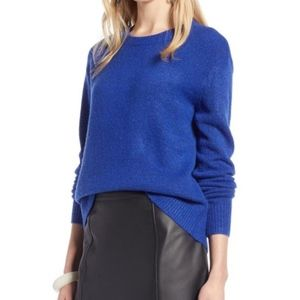 Halogen Blue Bow Back Sweater